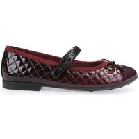 Pantofi Copii Balerin și Balerini cu curea Geox J5455D 000GX Roșu