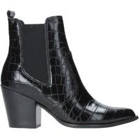 Pantofi Femei Botine Steve Madden SMSPATRICIA-BLKCRO Negru