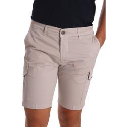 Îmbracaminte Bărbați Pantaloni scurti și Bermuda Sei3sei PZV130 7148 Bej