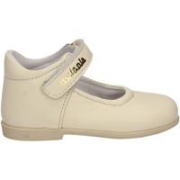 Pantofi Copii Balerin și Balerini cu curea Melania ME1047B7E.B Alb