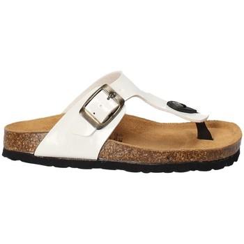 Pantofi Copii  Flip-Flops Bamboo BAM-02 Alb