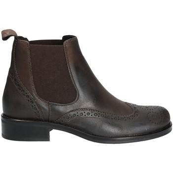 Pantofi Femei Ghete Mally 4591 Maro