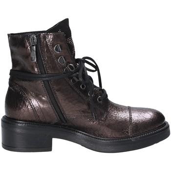 Pantofi Femei Ghete Mally 6019 Roșu
