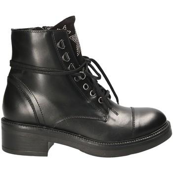 Pantofi Femei Ghete Mally 6019 Negru