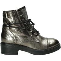 Pantofi Femei Ghete Mally 6019M Gri