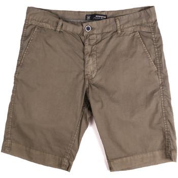 Îmbracaminte Bărbați Pantaloni scurti și Bermuda Key Up 2P17A 0001 Maro