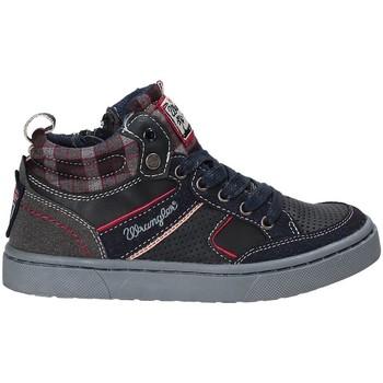 Pantofi Copii Pantofi sport stil gheata Wrangler WJ17225 Albastru