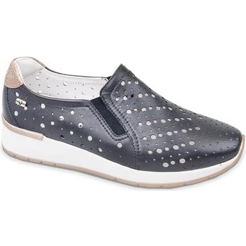 Pantofi Femei Pantofi Slip on Valleverde V66384 Albastru