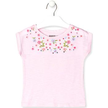 Îmbracaminte Copii Tricouri mânecă scurtă Losan 016-1003AL Roz