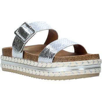 Pantofi Femei Papuci de vară Gold&gold A20 GJ340 Argint