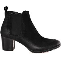 Pantofi Femei Botine Mally 5500 Negru