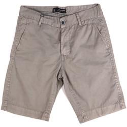 Îmbracaminte Bărbați Pantaloni scurti și Bermuda Key Up 2P17A 0001 Gri