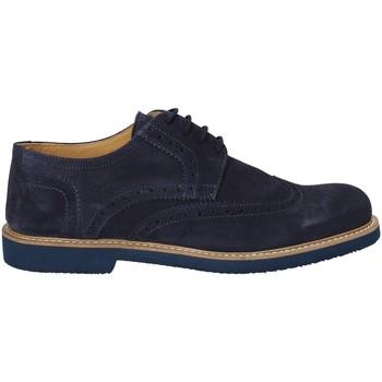 Pantofi Bărbați Pantofi Derby Exton 9190 Albastru