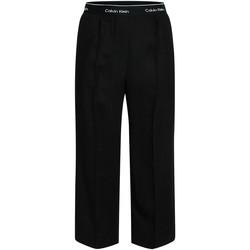 Îmbracaminte Femei Pantaloni fluizi și Pantaloni harem Calvin Klein Jeans K20K201766 Negru