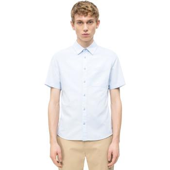 Îmbracaminte Bărbați Cămăsi mânecă scurtă Calvin Klein Jeans J30J311111 Albastru