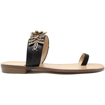 Pantofi Femei  Flip-Flops Gold&gold A19 GL303 Negru