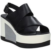 Pantofi Femei Sandale  Marco Ferretti 660298MF Negru