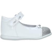 Pantofi Copii Balerin și Balerini cu curea Melania ME0110A9E.A Alb