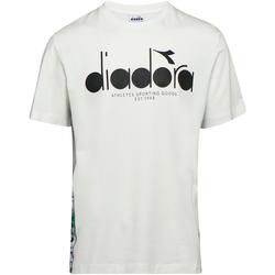 Îmbracaminte Bărbați Tricouri mânecă scurtă Diadora 502176630 Bej