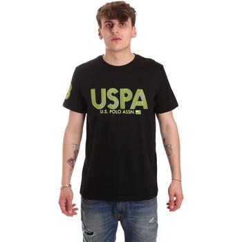 Îmbracaminte Bărbați Tricouri mânecă scurtă U.S Polo Assn. 57197 49351 Negru