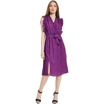 Îmbracaminte Femei Rochii lungi Gaudi 011BD15004 Violet