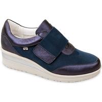 Pantofi Femei Pantofi Slip on Valleverde V20370 Albastru
