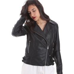 Îmbracaminte Femei Jachete din piele și material sintetic Gaudi 011BD38006 Negru