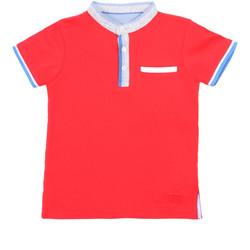 Îmbracaminte Copii Tricou Polo mânecă scurtă Losan 015-1791AL Roșu