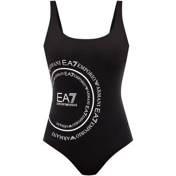 Îmbracaminte Femei Costum de baie 1 piesă  Emporio Armani EA7 911128 0P427 Negru