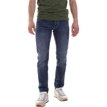 Îmbracaminte Bărbați Jeans drepti Sseinse PJE622SS Albastru