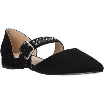 Pantofi Femei Balerin și Balerini cu curea Gold&gold A20 GE52 Negru