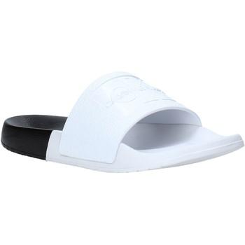 Pantofi Femei Papuci de vară Calvin Klein Jeans B4R0900 Alb