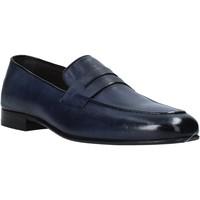 Pantofi Bărbați Mocasini Exton 1020 Albastru