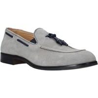Pantofi Bărbați Mocasini Exton 1111 Gri