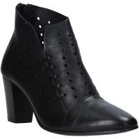 Pantofi Femei Botine Mally 6878 Negru