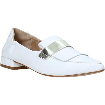 Pantofi Femei Mocasini Mally 6926 Alb