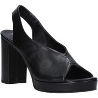 Pantofi Femei Sandale  Mally 6843 Negru