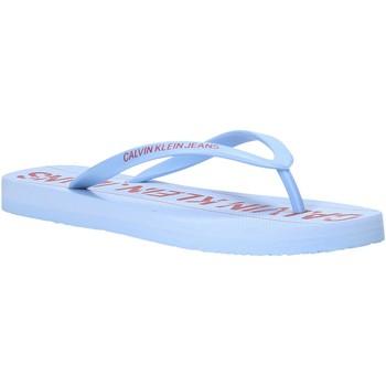 Pantofi Femei  Flip-Flops Calvin Klein Jeans B4R0904 Albastru