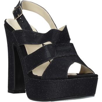 Pantofi Femei Sandale  Esther Collezioni ELE 084 Negru
