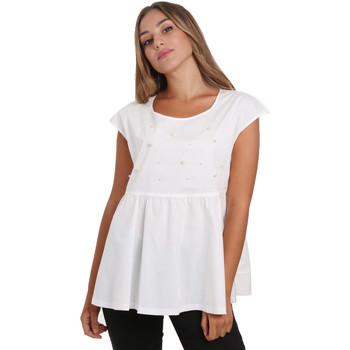Îmbracaminte Femei Topuri și Bluze NeroGiardini E062761D Alb