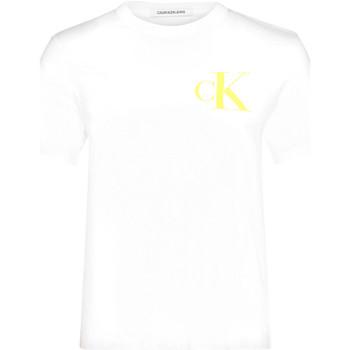Îmbracaminte Femei Tricouri mânecă scurtă Calvin Klein Jeans J20J213562 Alb
