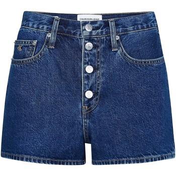 Îmbracaminte Femei Pantaloni scurti și Bermuda Calvin Klein Jeans J20J213866 Albastru