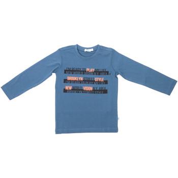 Îmbracaminte Copii Tricouri cu mânecă lungă  Melby 70C5524 Albastru