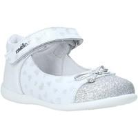 Pantofi Fete Balerin și Balerini cu curea Melania ME0100A0S.A Alb