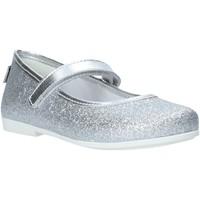 Pantofi Fete Balerin și Balerini cu curea Melania ME2050D0S.D Argint