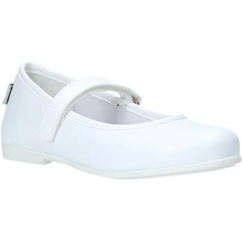 Pantofi Fete Balerin și Balerini cu curea Melania ME2068D0S.A Alb