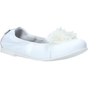 Pantofi Fete Balerin și Balerini cu curea Melania ME6104F0S.A Alb