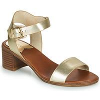 Pantofi Femei Sandale  Kickers VOLOU Auriu