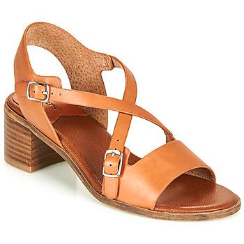 Pantofi Femei Sandale  Kickers VOLUBILIS Camel