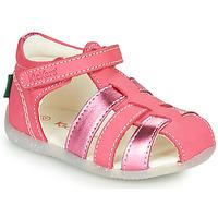Pantofi Fete Sandale  Kickers BIGFLO-2 Roz